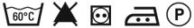 Паутинка Gutermann HT3 - символы по уходу