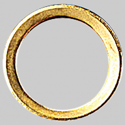 6 C / 11 RING GILDED
